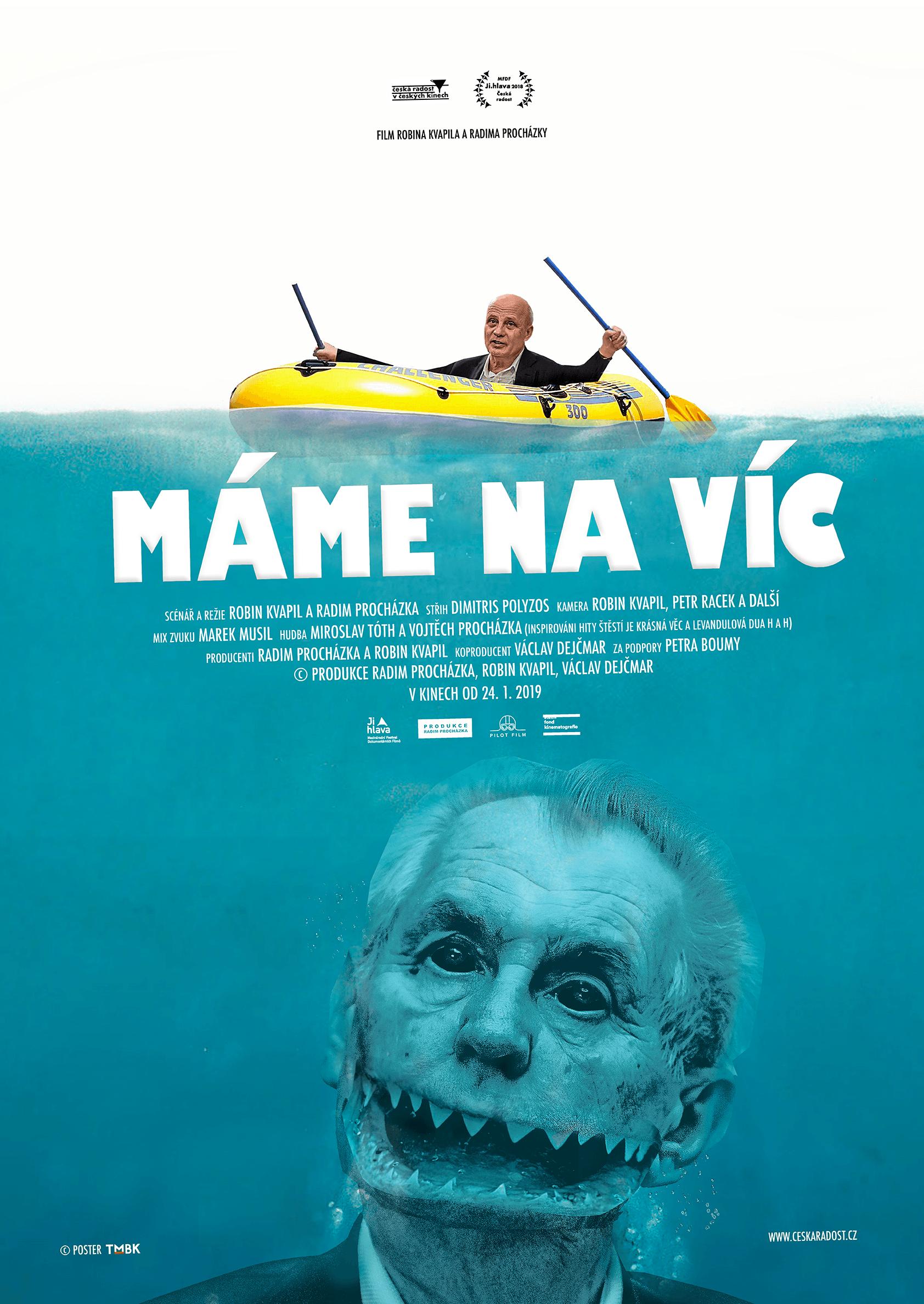 Plakát k filmu Máme na víc od TMBK získal jednu z cen na festivalu dokumentárních filmů v Jihlavě